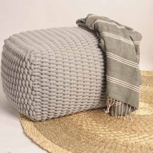 Jumbo Knit Floor Cushion