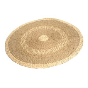 Seagrass River Round Rug