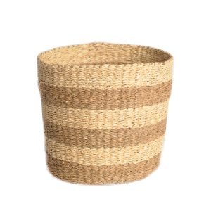 Seagrass Striped Basket