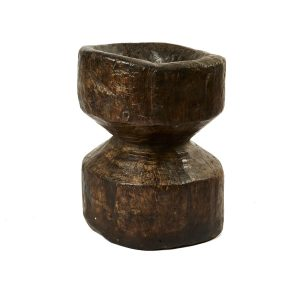 Indian Wooden Okhali