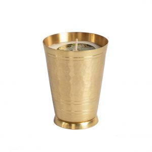 Brass Lassi Candle